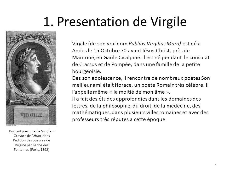1. Presentation de Virgile