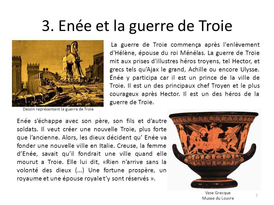 3. Enée et la guerre de Troie