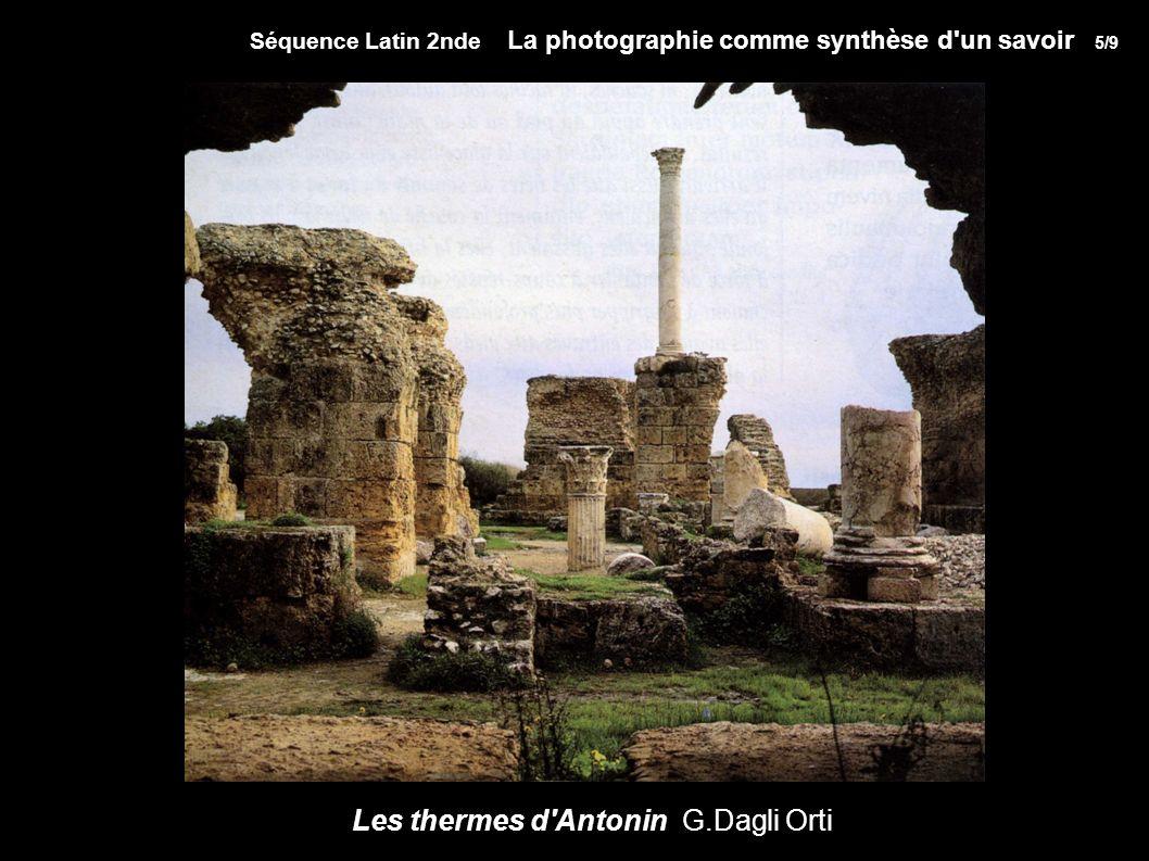 Les thermes d Antonin G.Dagli Orti