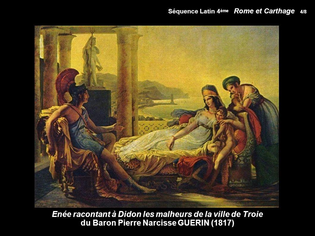 Enée racontant à Didon les malheurs de la ville de Troie