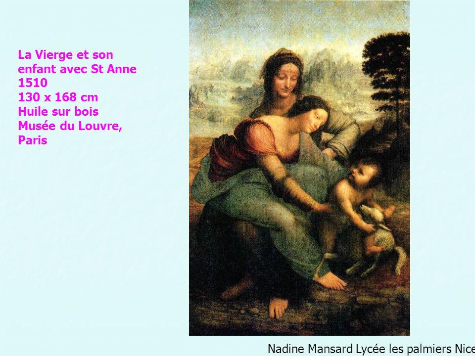La Vierge et son enfant avec St Anne