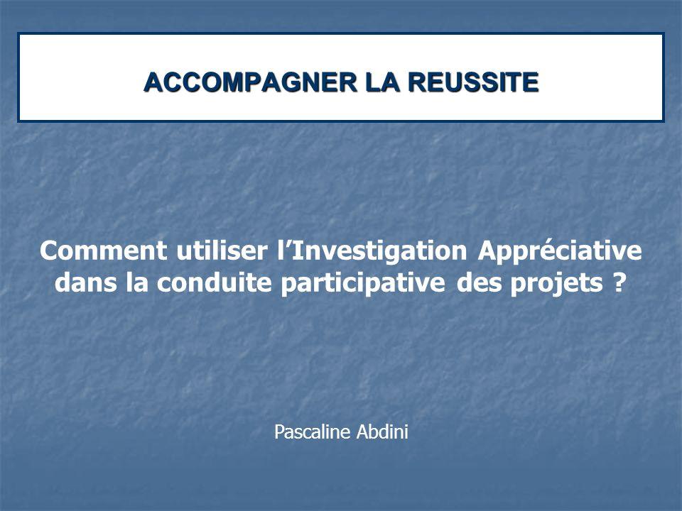 ACCOMPAGNER LA REUSSITE