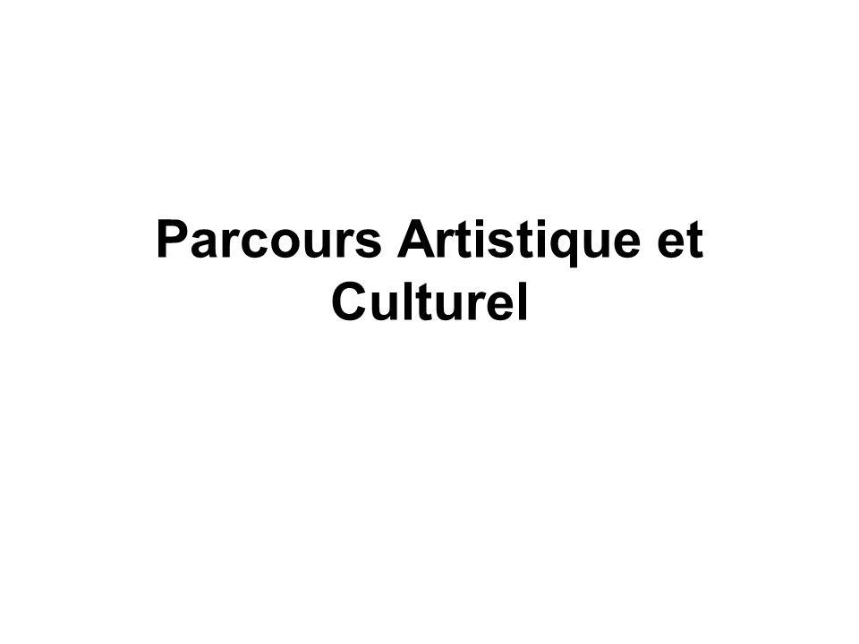 Parcours Artistique et Culturel