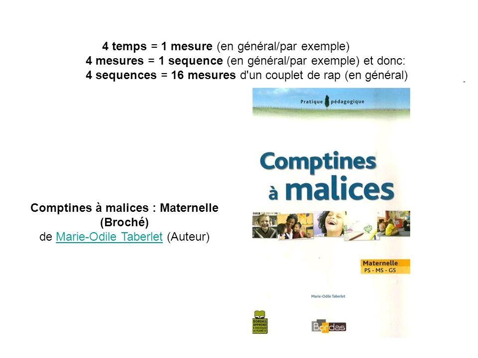 Comptines à malices : Maternelle (Broché)