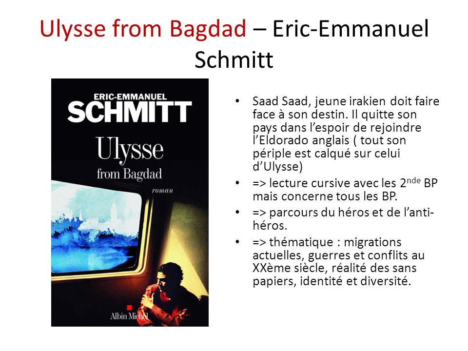 Ulysse from Bagdad – Eric-Emmanuel Schmitt