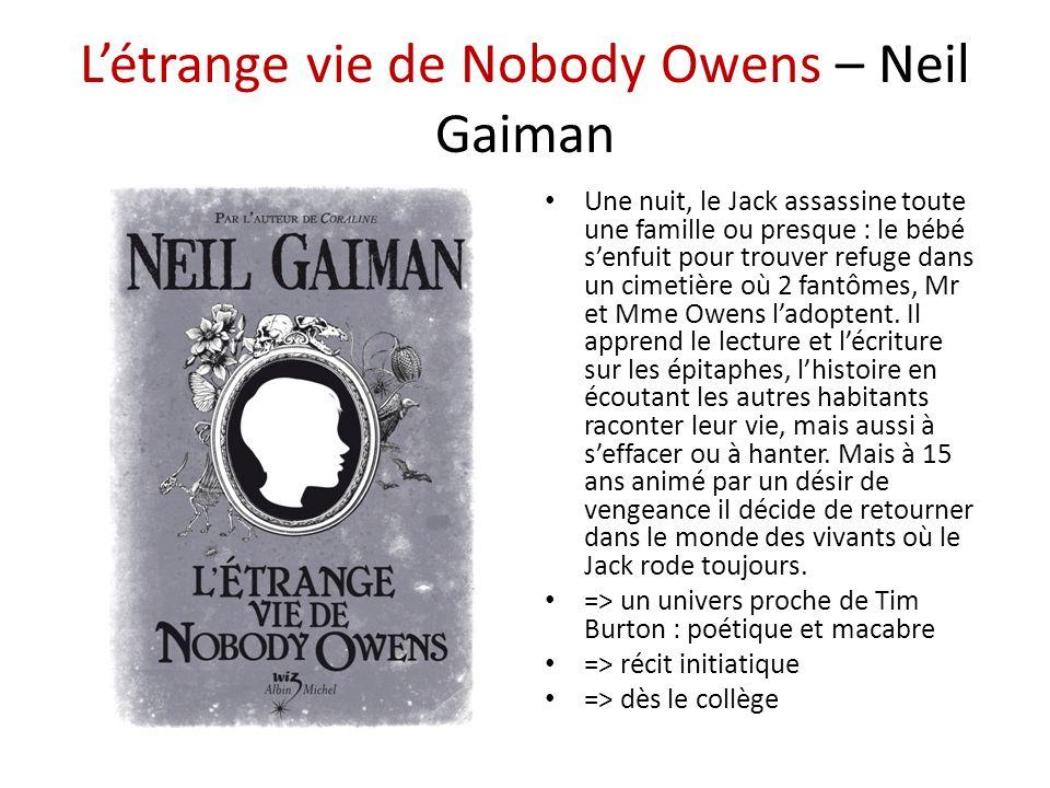 L'étrange vie de Nobody Owens – Neil Gaiman