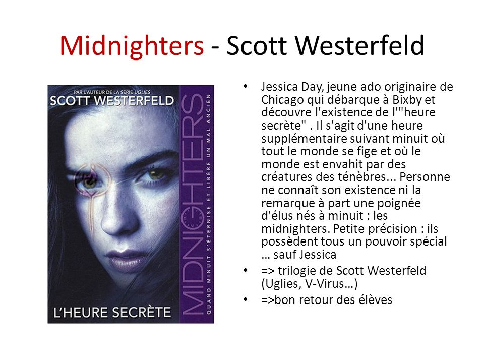 Midnighters - Scott Westerfeld