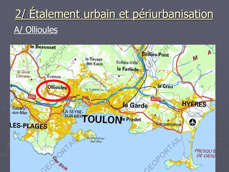 2/ Étalement urbain et périurbanisation