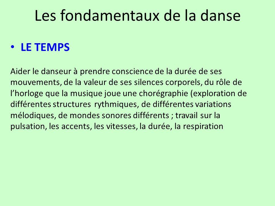 Les fondamentaux de la danse