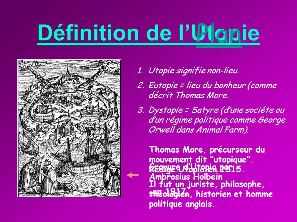 Définition de l'Utopie