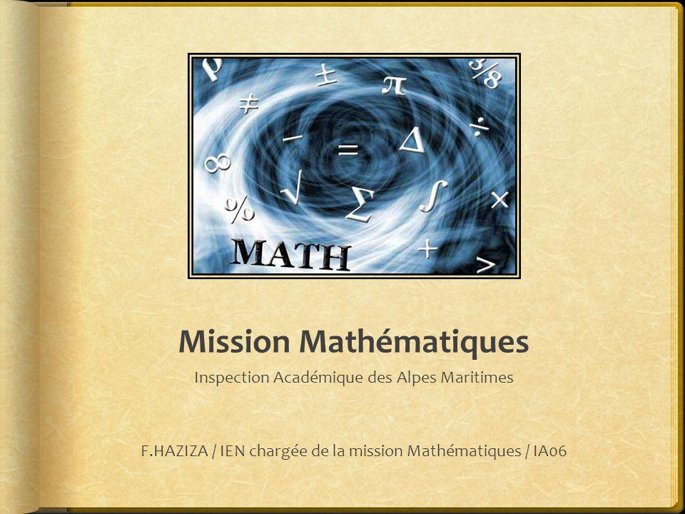 Mission Mathématiques