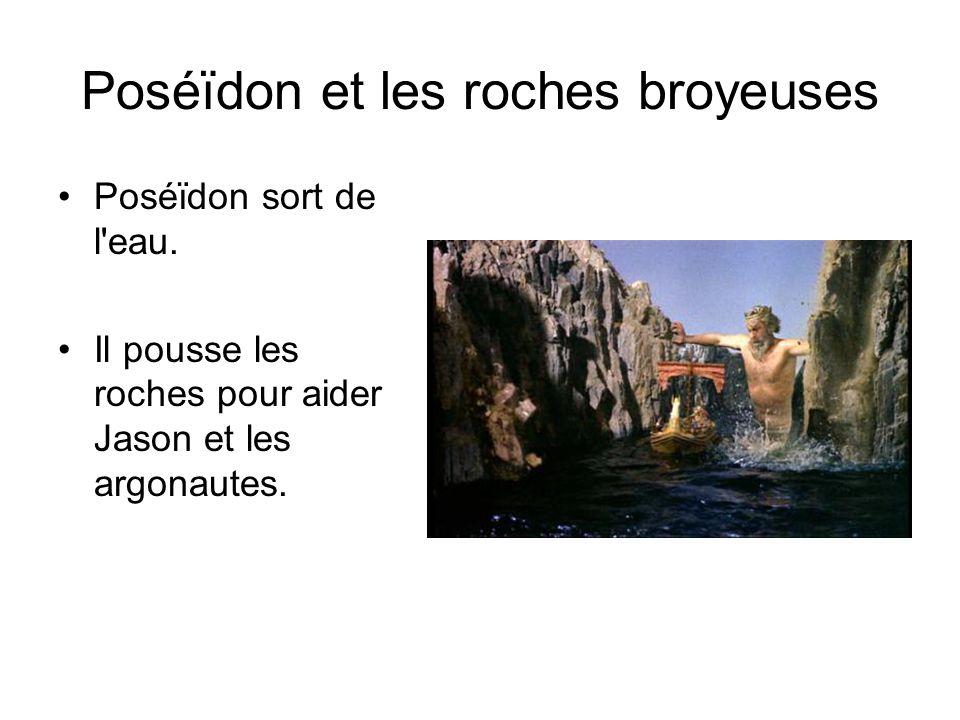 Poséïdon et les roches broyeuses
