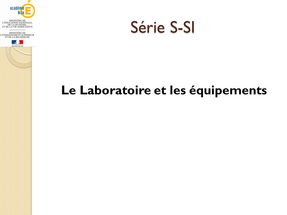 Le Laboratoire et les équipements