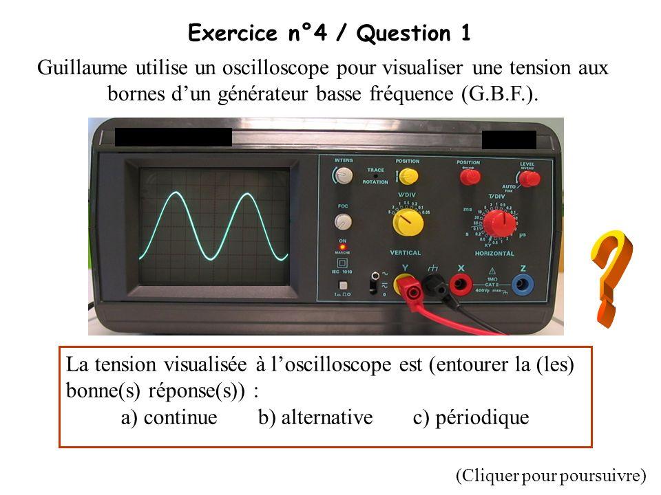 a) continue b) alternative c) périodique