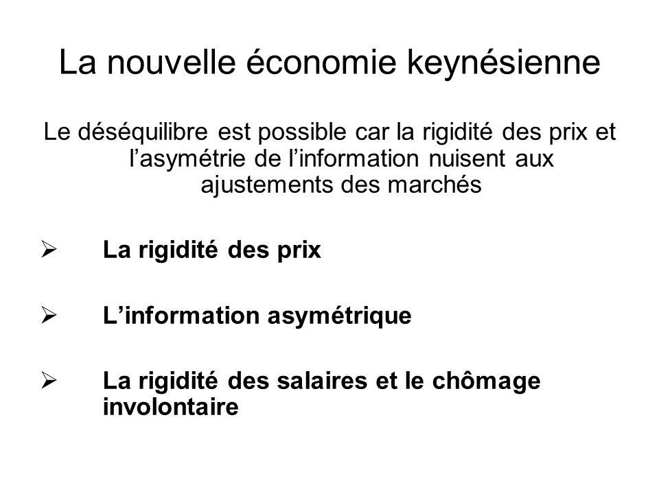 La nouvelle économie keynésienne