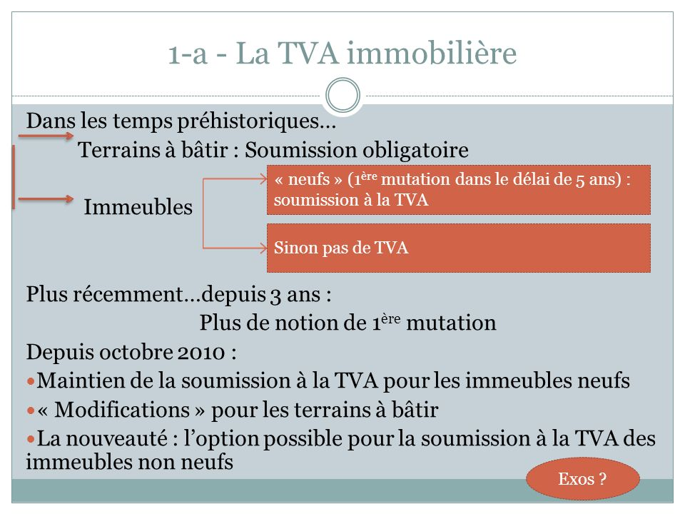 Plus de notion de 1ère mutation