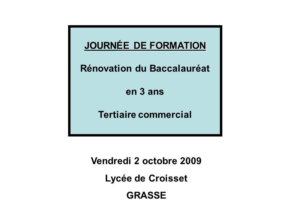 Rénovation du Baccalauréat
