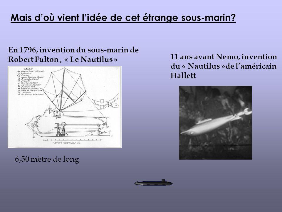 Mais d'où vient l'idée de cet étrange sous-marin