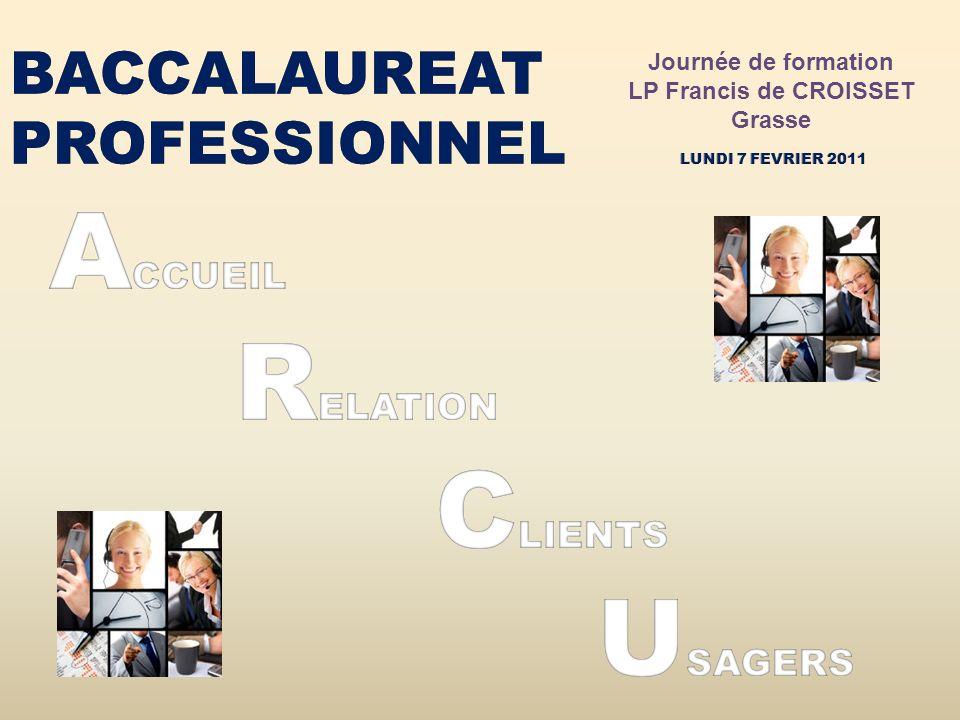Journée de formation LP Francis de CROISSET. Grasse.