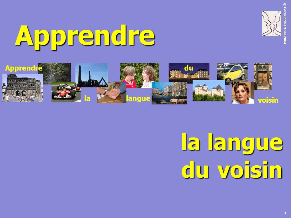 Apprendre Apprendre du voisin la langue la langue du voisin