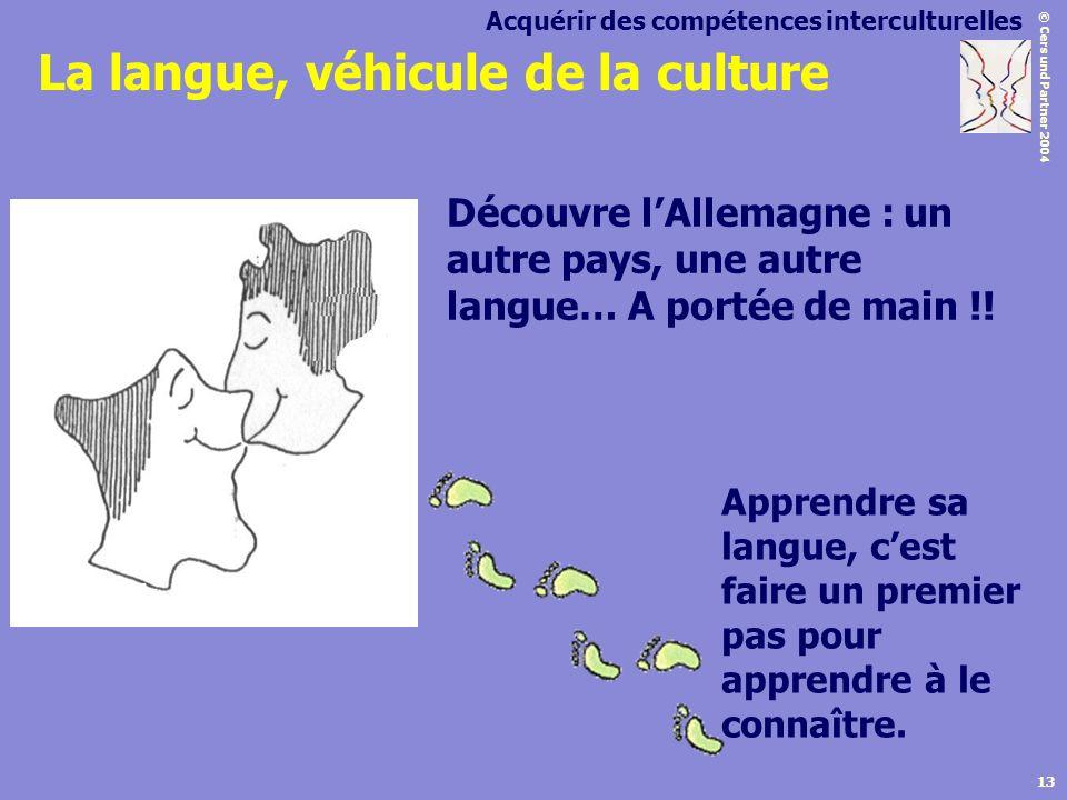 La langue, véhicule de la culture