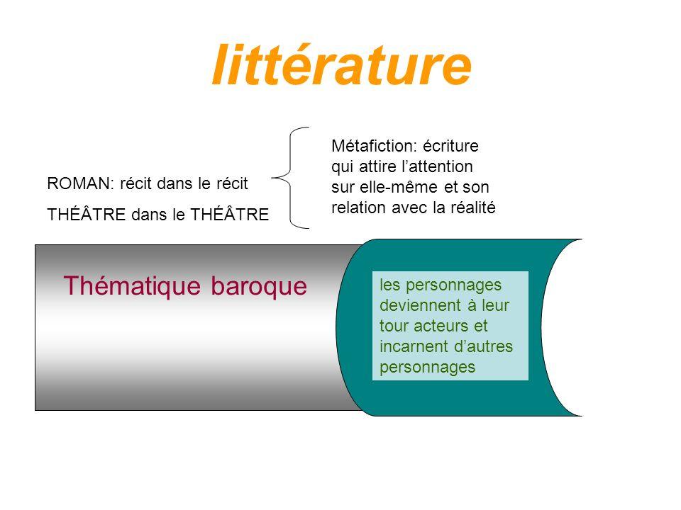 littérature Thématique baroque