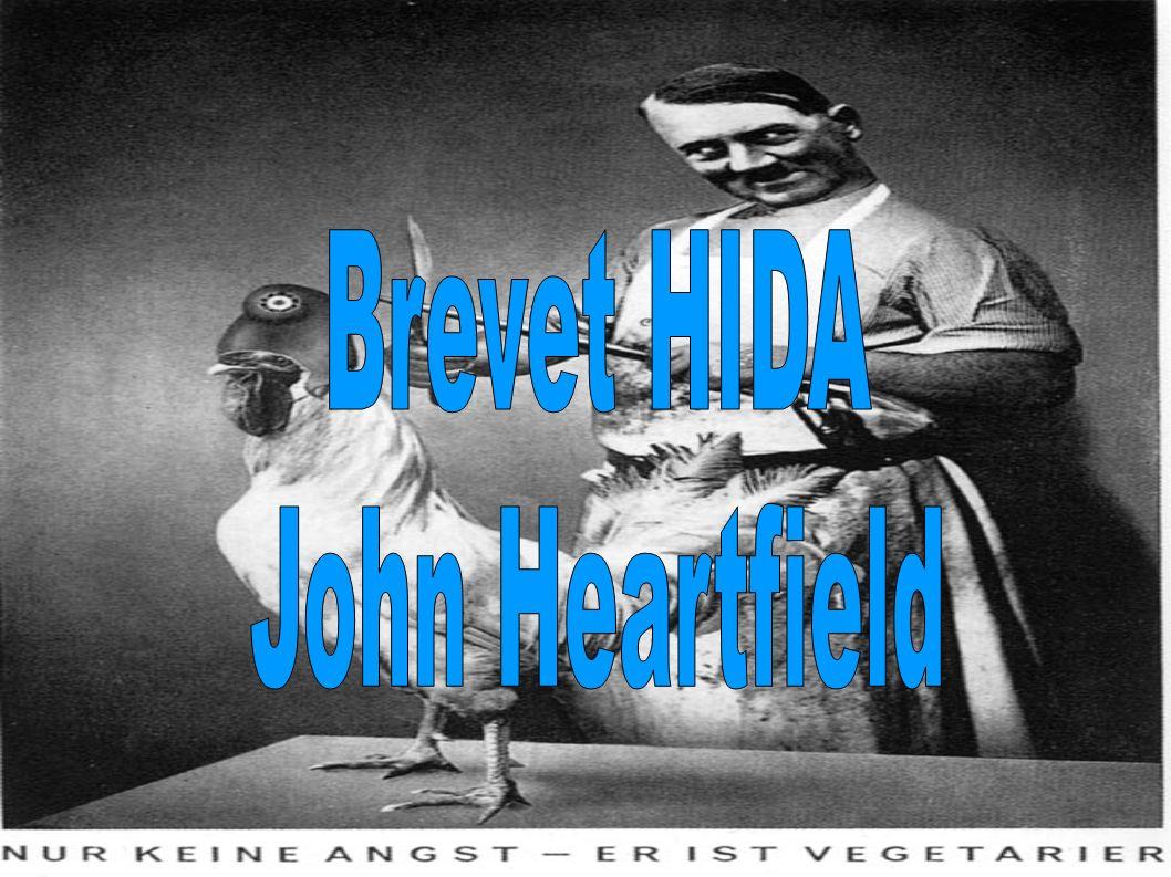 Brevet HIDA John Heartfield
