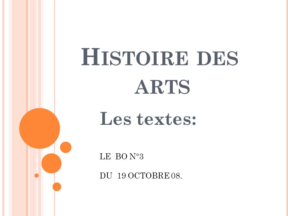 Les textes: LE BO N°3 DU 19 OCTOBRE 08.