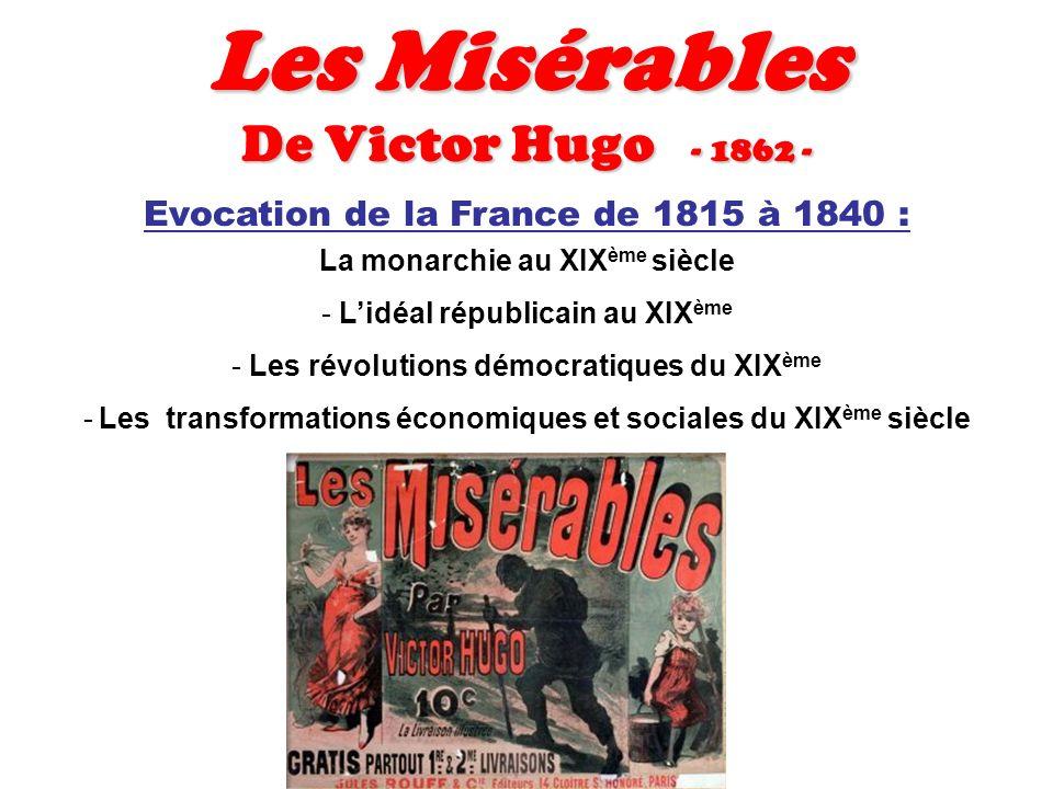 Les Misérables De Victor Hugo - 1862 -