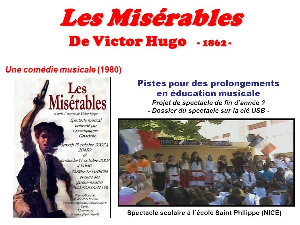 Les Misérables De Victor Hugo - 1862 - Une comédie musicale (1980)