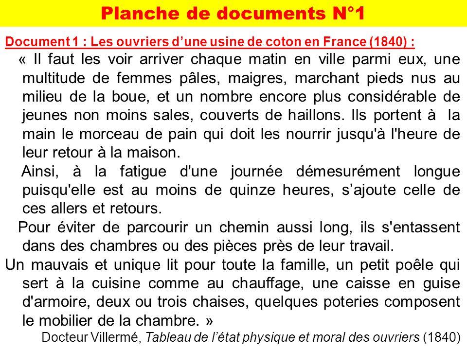 Planche de documents N°1