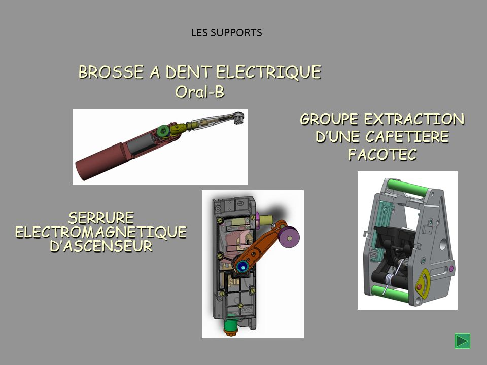 GROUPE EXTRACTION D'UNE CAFETIERE FACOTEC