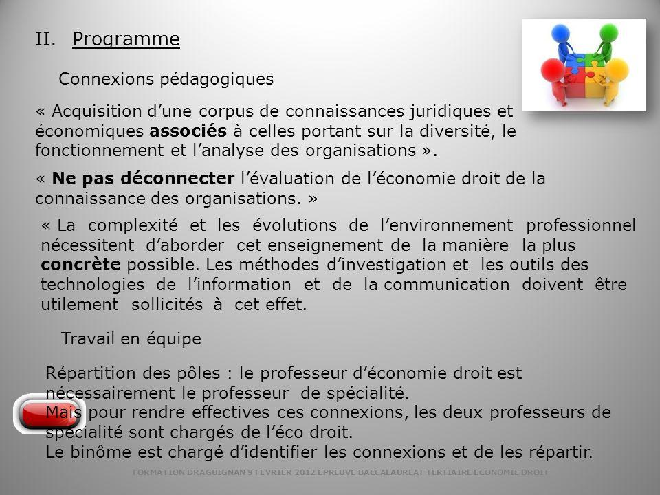 Programme Connexions pédagogiques