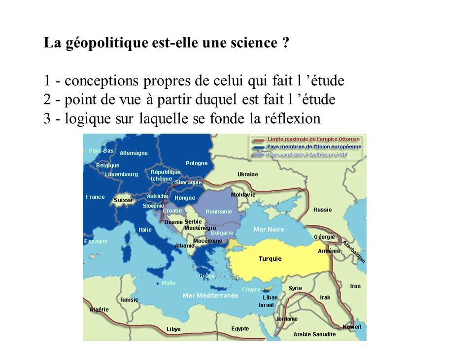 La géopolitique est-elle une science