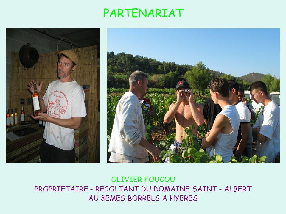 PARTENARIAT OLIVIER FOUCOU