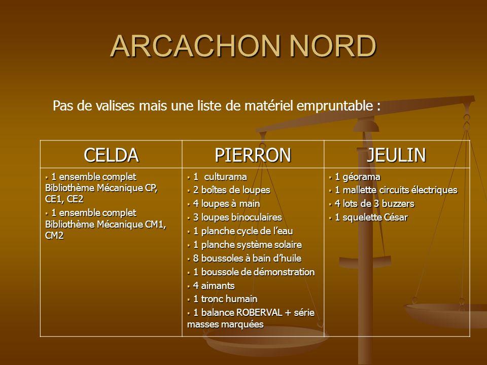 ARCACHON NORD CELDA PIERRON JEULIN