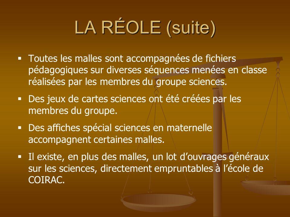 LA RÉOLE (suite)