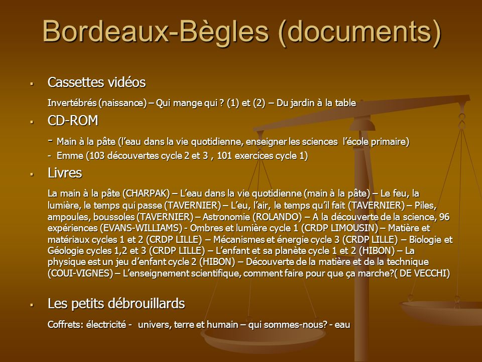 Bordeaux-Bègles (documents)