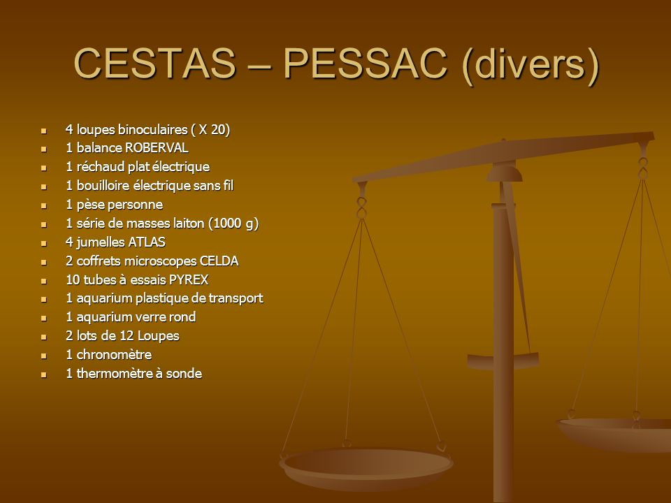 CESTAS – PESSAC (divers)