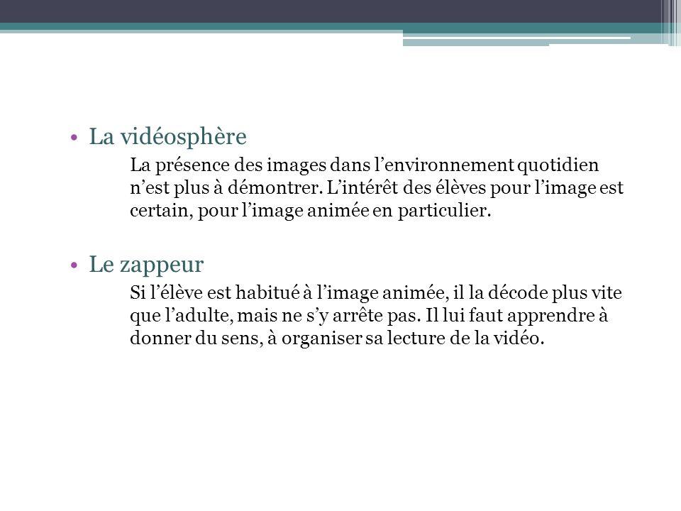 La vidéosphère Le zappeur