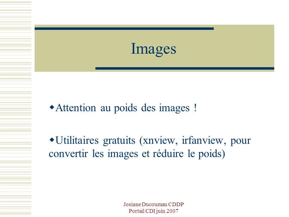 Josiane Ducournau CDDP Portail CDI juin 2007