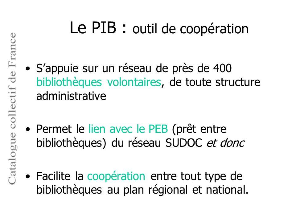 Le PIB : outil de coopération