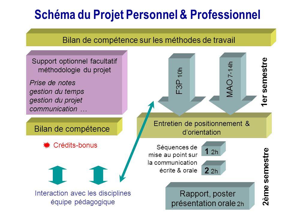Schéma du Projet Personnel & Professionnel