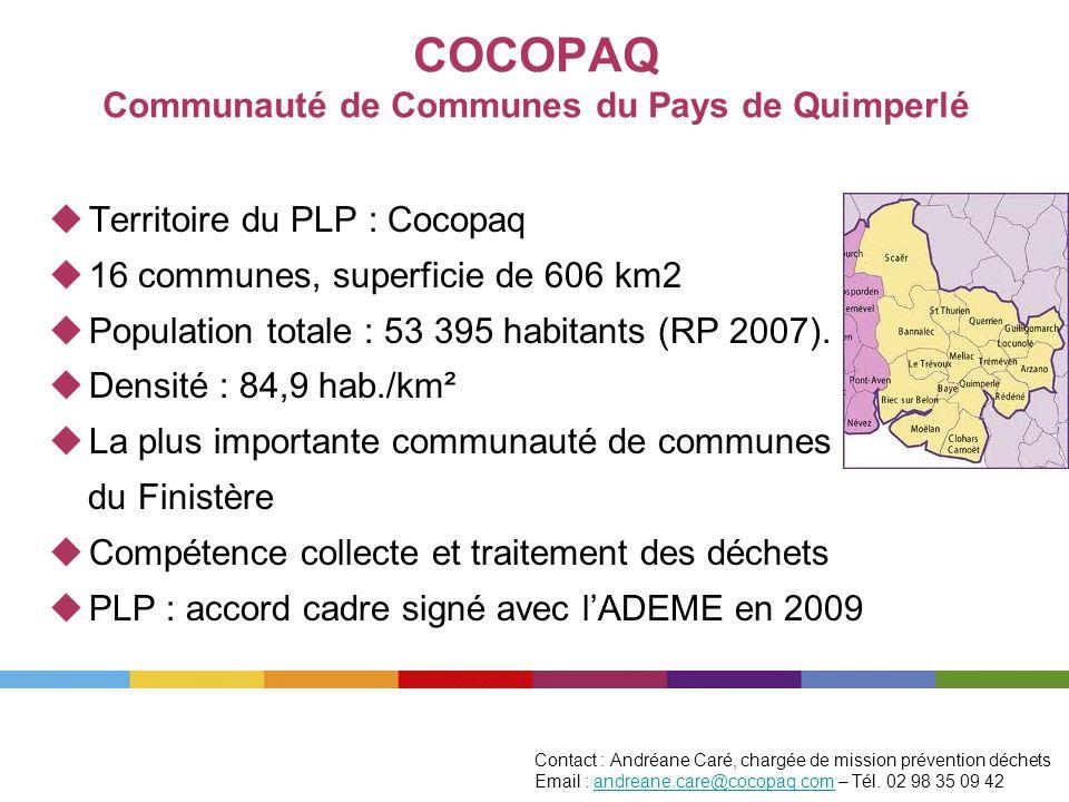 COCOPAQ Communauté de Communes du Pays de Quimperlé