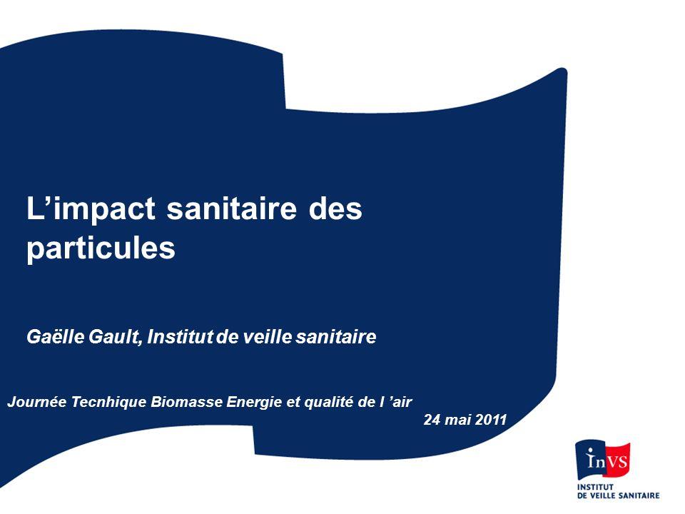 L'impact sanitaire des particules