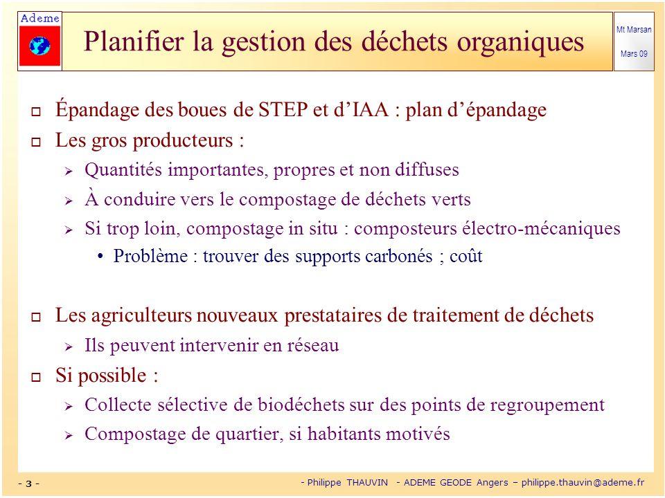 Épandage des boues de STEP et d'IAA : plan d'épandage