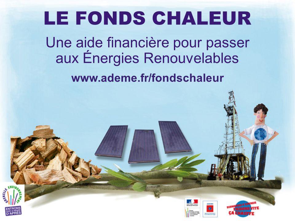 Une aide financière pour passer aux Énergies Renouvelables