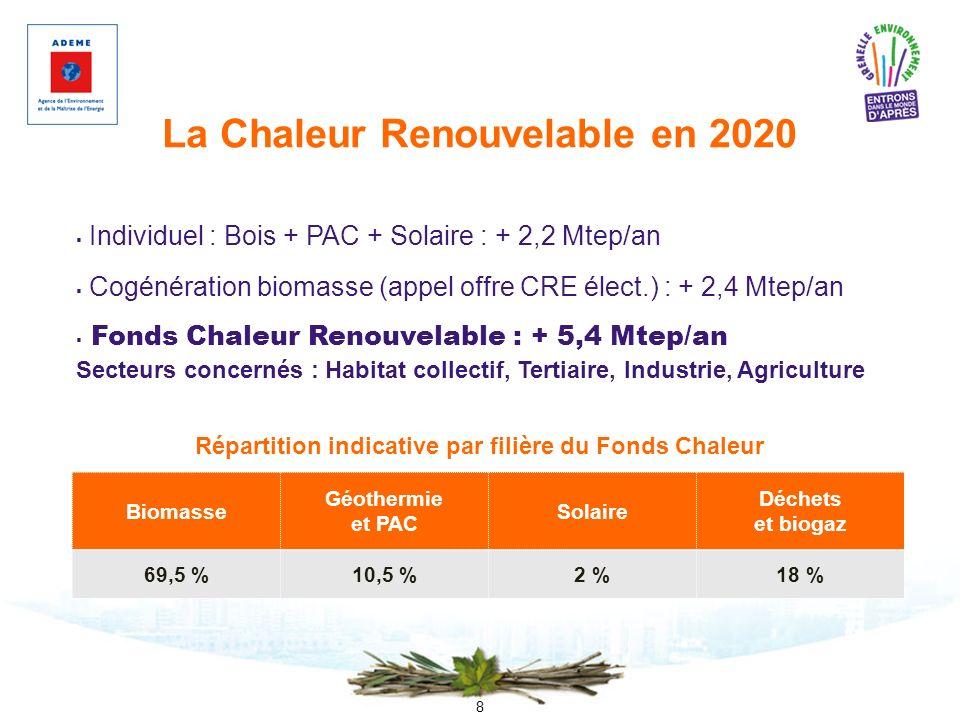 La Chaleur Renouvelable en 2020