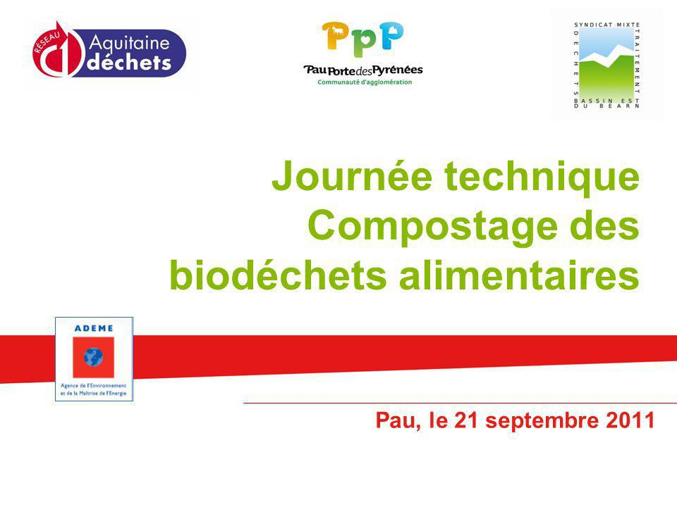 Journée technique Compostage des biodéchets alimentaires