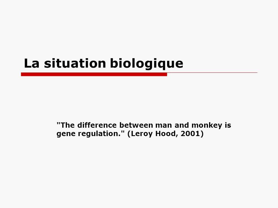 La situation biologique